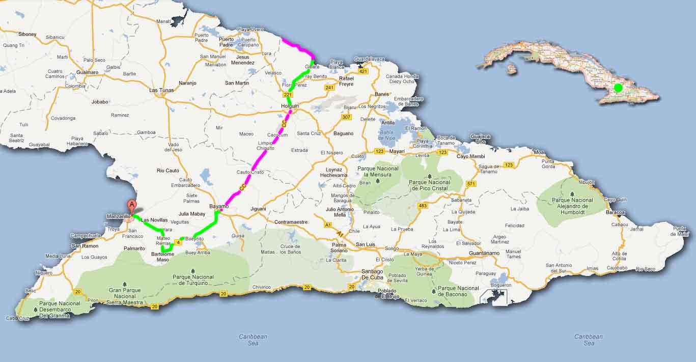 Enfin dehors » Blog Archive » CUBA A VÉLO 2012 – La région centre